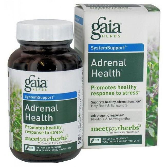 gaia herbs adrenal health ingredients