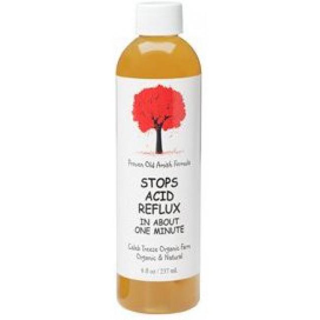 Caleb Treeze Organic Farm Stops Acid Reflux 8 Oz Liquid