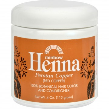 Rainbow Research, Henna Hair Color and Conditioner Persian Copper Red Copper  4 oz The Natural