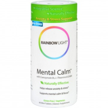 Rainbow Light Mental Calm 60 Tablets The Natural