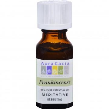 Aura Cacia, Pure Essential Oil Frankincense - 0.5 fl oz