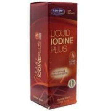 Life Flo, Liquid Iodine Plus 2 oz Liquid