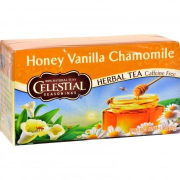Celestial Seasonings, Herbal Tea - Caffeine Free - Honey Vanilla Chamomile - 20 Bags