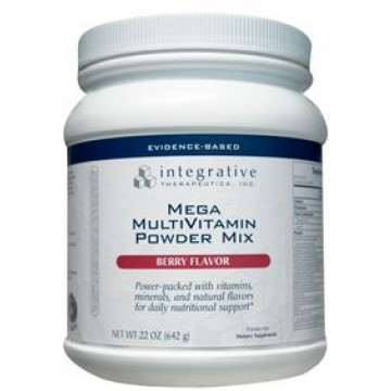 Integrative Therapeutics, Mega MultiVitamin Powder Mix (Berry) 637 g