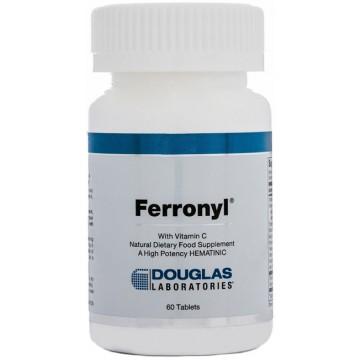 Douglas Laboratories, Ferronyl (with Vitamin C) 60 Tablets