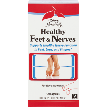 Terry Naturally, Healthy Feet & Nerves 120 Capsules