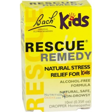 Bach Kids Rescue Remedy 10 Ml Drops The Natural