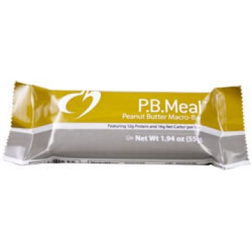 Designs For Health, P.B. Meal Bar (Peanut Butter) 12 Bars