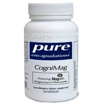 Pure Encapsulations, CogniMag 120 Veggie Caps
