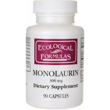 Ecological Formulas, Monolaurin- 300 MG 90 Capsules