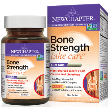 New Chapter Supplements, Bone Strength Take Care 120 Slim Tablets