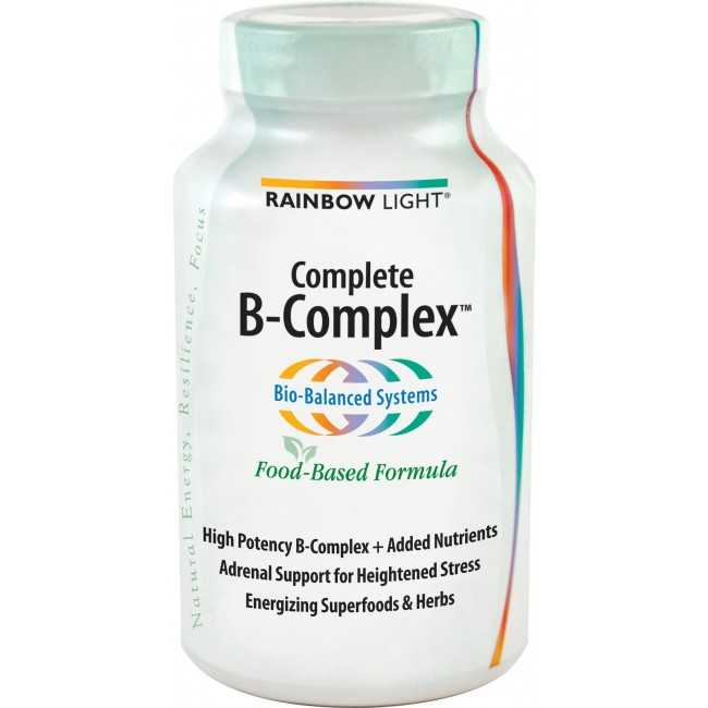 Rainbow Light Complete B Complex 90 Tablets The Natural