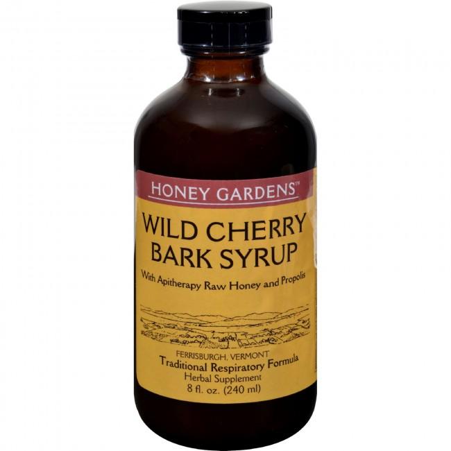 Honey Gardens Apiaries, Honey Wild Cherry Bark Syrup