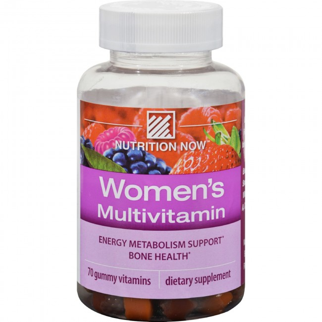 Nutrition Now Womens Gummy Vitamins Mixed Berry