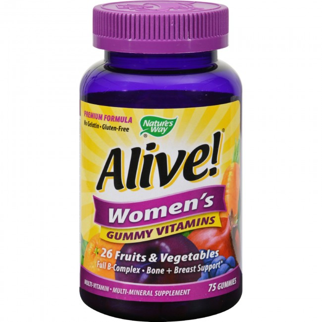 Gummy Vitamins For Women Natures Way