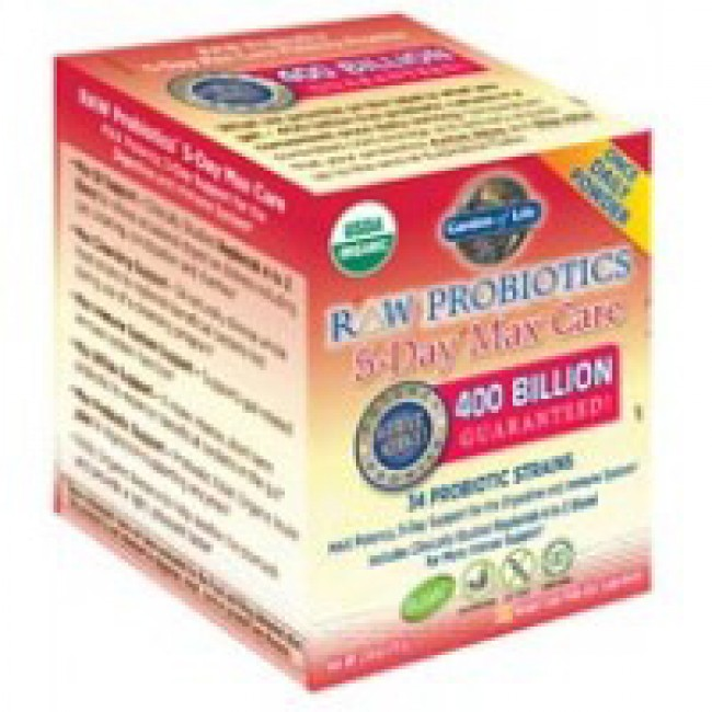 Garden Of Life Raw Probiotics 5 Day Max Care 2 4oz Powder