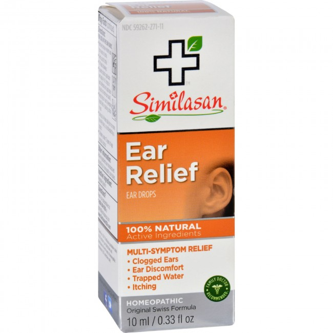 Ear relief drops