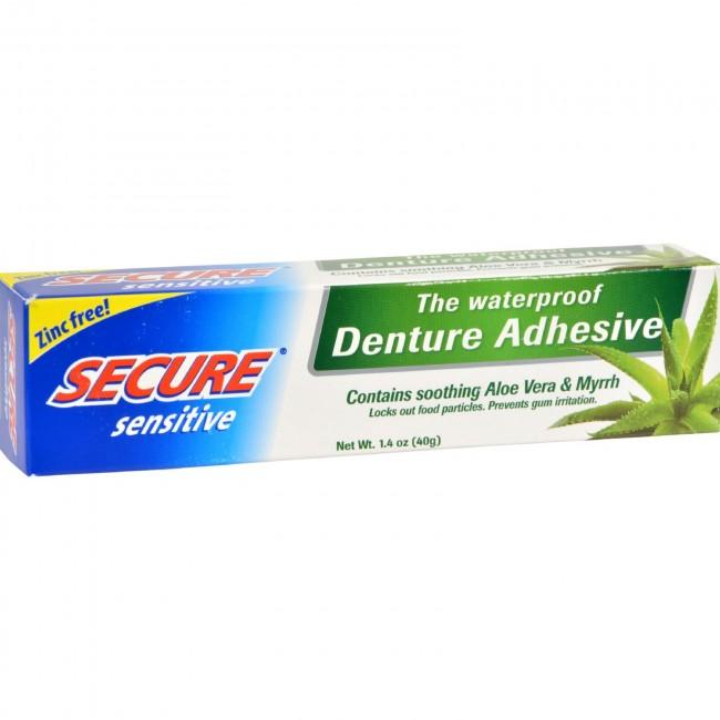 Secure Denture Adhesive Secure Sensitive Denture Adhesive