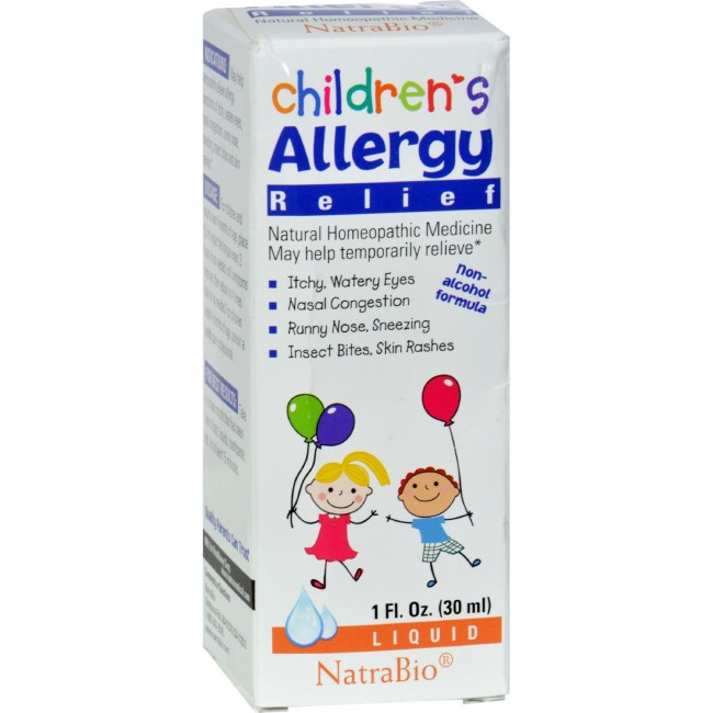 Natrabio Children S Allergy Relief 1 Fl Oz The Natural