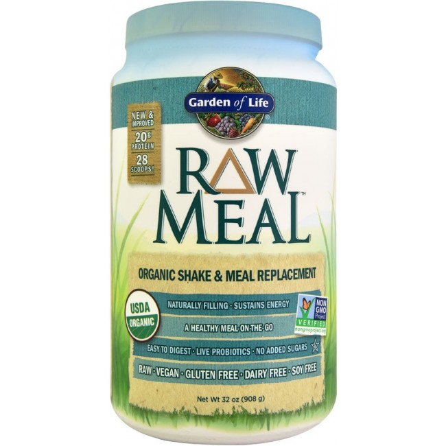 Garden Of Life Raw Meal 32 Oz 908 G Powder Original The Natural