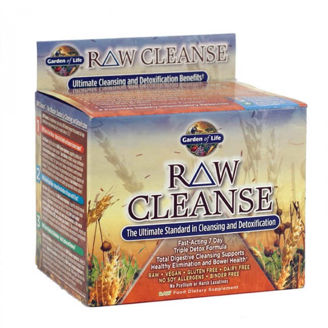 Garden of life raw cleanse 3 step kit 7 day 1 system - Garden of life raw meal weight loss plan ...