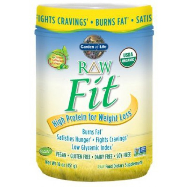Garden Of Life Raw Organic Fit 15 1 Oz Powder The Natural