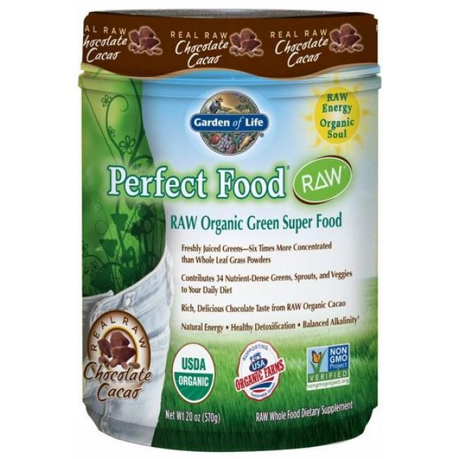 Garden Of Life Perfect Food Raw Organic Chocolate 570 G Powder The Natural
