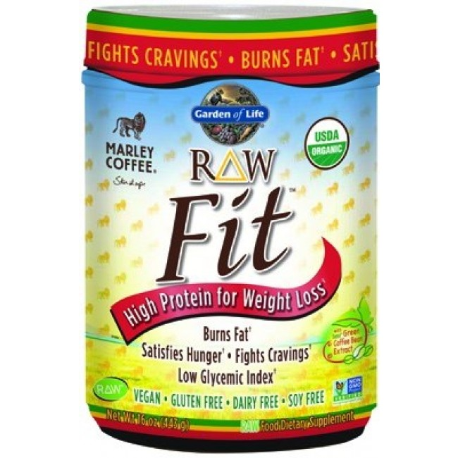 Garden of life raw fit marley coffee 16 oz powder the - Garden of life raw meal weight loss plan ...