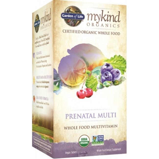 Garden Of Life Mykind Organics Prenatal Multi 180 Vegan Tablets The Natural