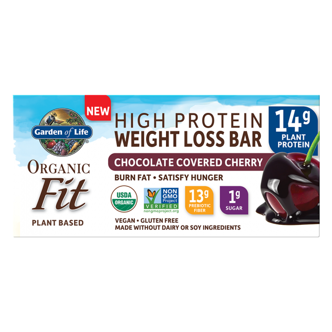 garden of life weight loss. Garden Of Life, RAW Organic Fit High Protein Weight Loss Bar 12 Bars Chocolate Covered Life 1