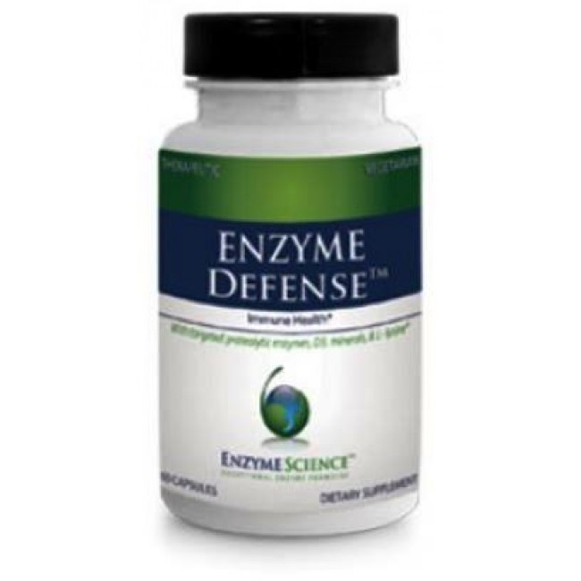 Enzyme Science, Enzyme Defense 60 Capsules -The Natural