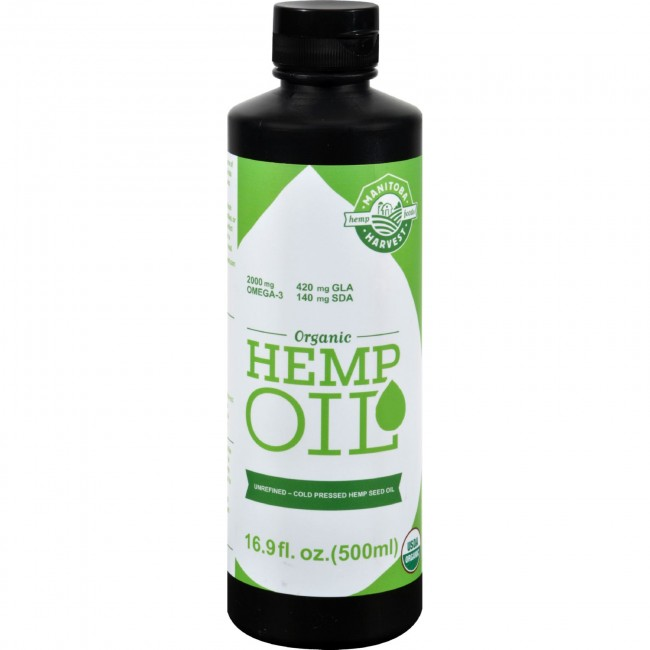 Manitoba Harvest Organic Hemp Oil 16 9 Fl Oz The Natural