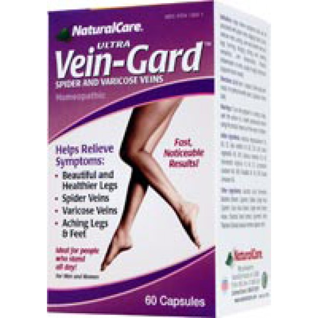 Natural Care Ultra Vein Guard 60 Capsules The Natural