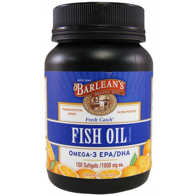 Barleans fish oil orange 1000 mg 100 softgels the for Barleans fish oil reviews