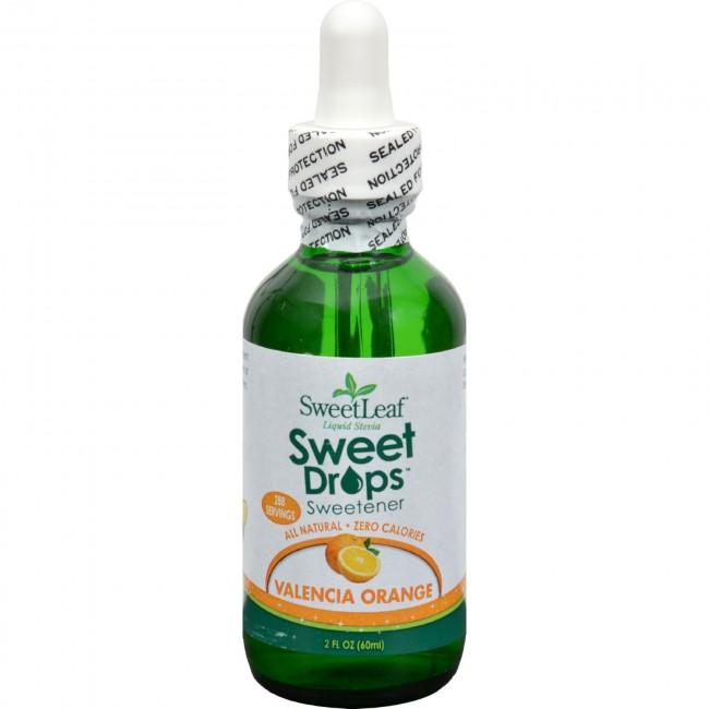 Sweet Leaf Sweet Drops Sweetener Valencia Orange 2 Fl