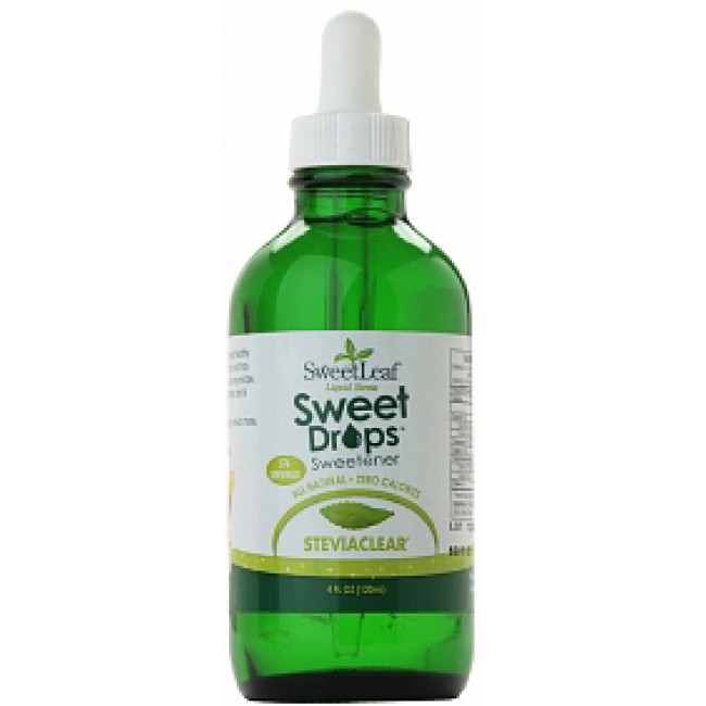 Sweet Leaf Liquid Stevia Sweet Drops 4 Oz Liquid The Natural