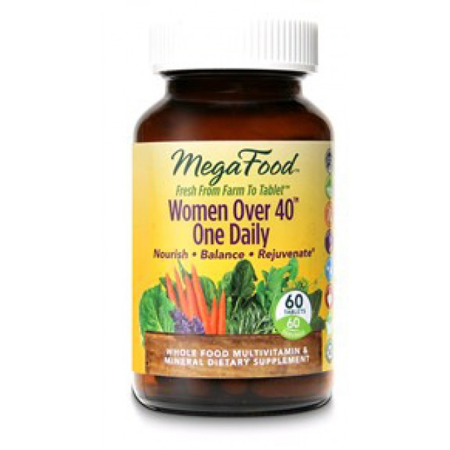Megafood Women Over 40 One Daily 60 Tablets The Natural