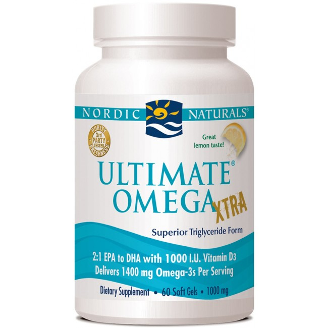 Nordic Naturals Ultimate Omega Xtra Liquid Reviews