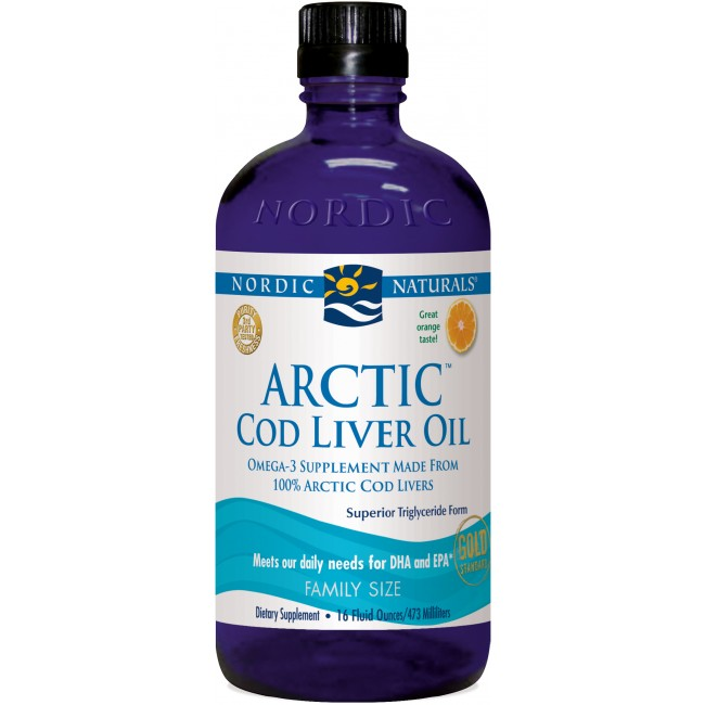 Nordic Naturals Cod Liver Oil K
