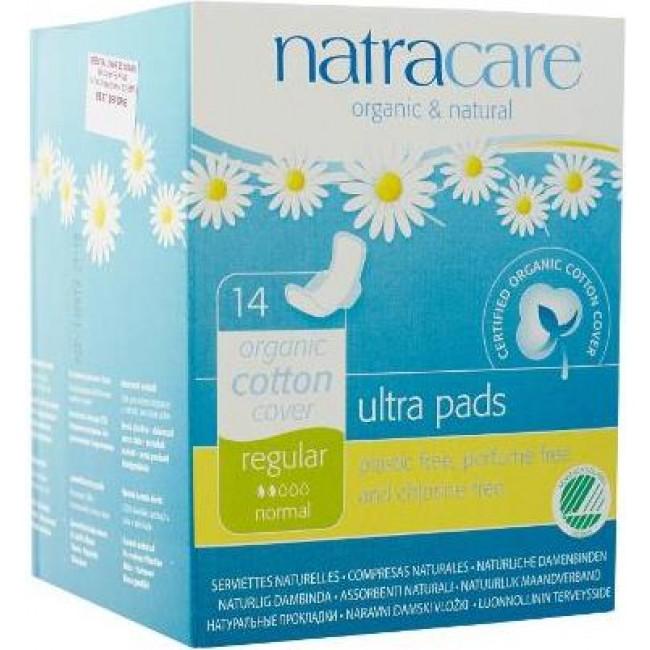 Organic feminine pads