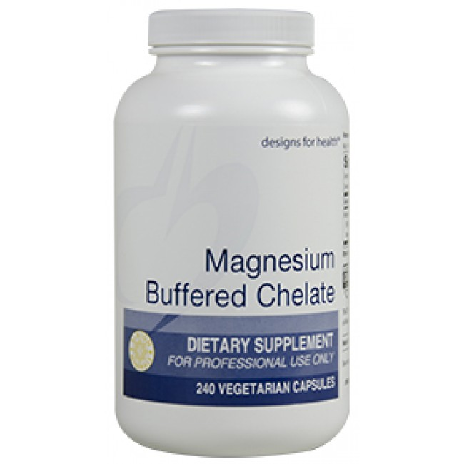 Designs For Health Magnesium Buffered Chelate 240 Veggie