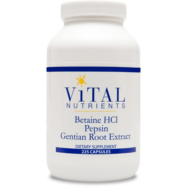 Betaine hcl pepsin benefits