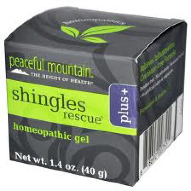 Peaceful Mountain Shingles Rescue Plus 1 4 Oz Creme The
