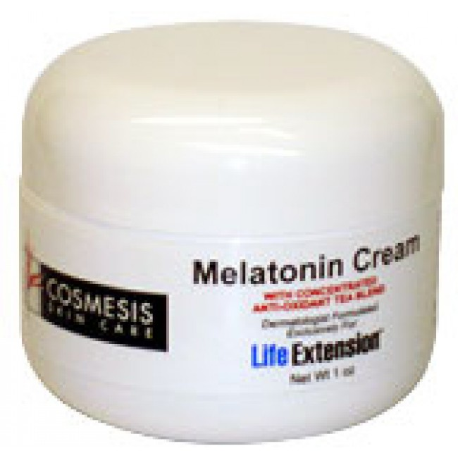 Life Extension, Melatonin Cream -The Natural